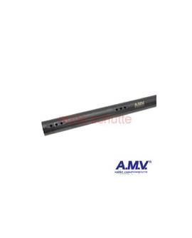 """Hinterachse 50x1040x2mm """"AMV"""" extra weich, schwarz"""