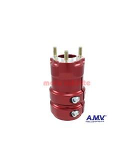 Radstern 50x125mm AMV Rot