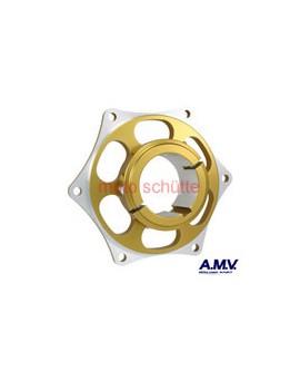Kettenradaufnahme 50mm AMV Gold