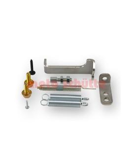 Montagematerial für Gaszugbetätigung