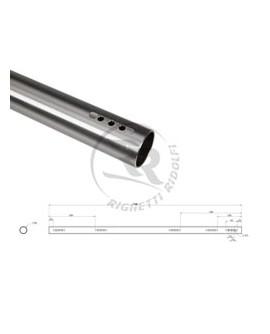 Rear Axle, hollow Ø 40 x 4 x1040mm hard