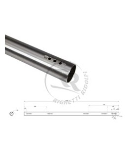 Rear Axle, hollow Ø 40 x 3 x 1040mm medium