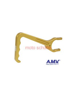 Kupplungshebel AMV Gold eloxiert