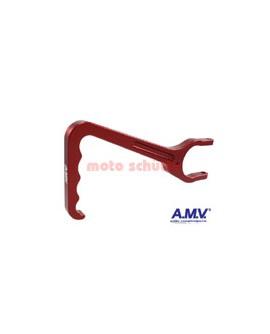Kupplungshebel AMV Rot eloxiert