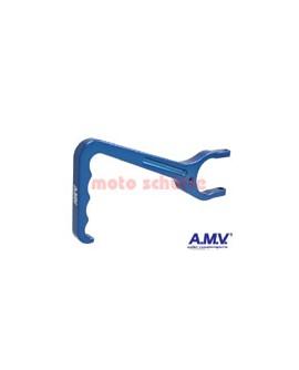 Kupplungshebel AMV Blau eloxiert