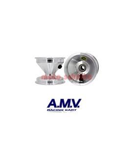 Felge 115mm 100cc AMV, Standard Silber