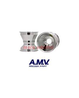 Felge 140mm AMV, Standard Silber