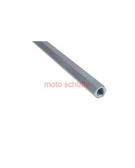 Spurstange sechskant Aluminium titanium eloxiert