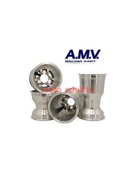 Felgensatz 125cc 130/210m TIGER Silber