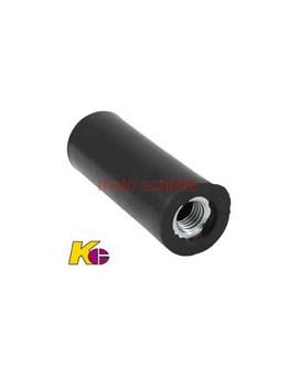 Gummiblock mit Gewindeeinsatz 28 mm