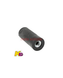 Gummiblock mit Gewindeeinsatz 32 mm