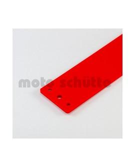 Kettenschutz Kunststoff rot