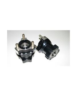 Vorderradnabe - Aluminium - Länge: 75 mm - MS-Kart