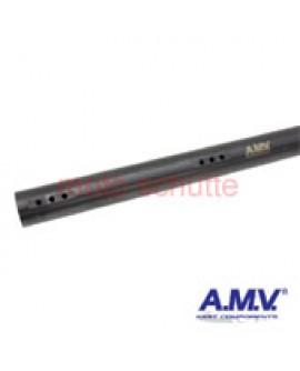 "Rear Axle 50x1040x2mm ""AMV"" extra-hard, black"