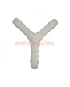 Y-Junction Fitting 6mm Plastic